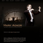 Mark Agnor Conductor and Violinist