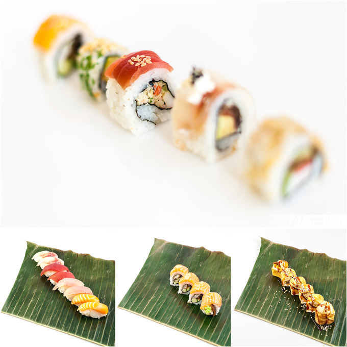 sushi photography Kamikadze Roll