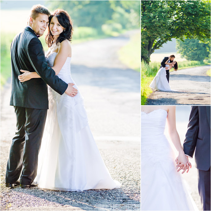 A romantic outdoor photo session near Kraków