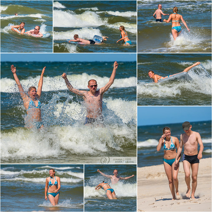 suumer fun in the Baltic Sea | outdoor photo session